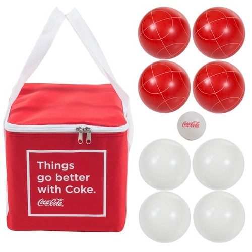Coca Cola Regulation Size Bocce Ball Set