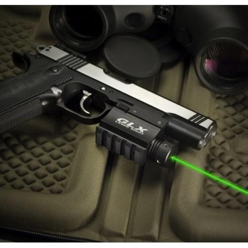 Barska Green GLX Laser Sight w/Built-In Mount & Rail