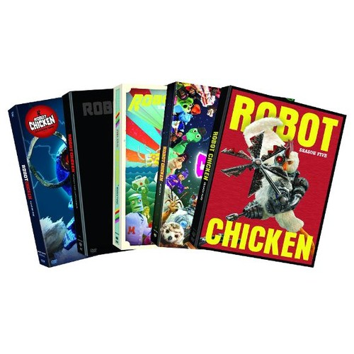 Robot Chicken: Seasons 1-5 [5 Discs] [DVD]