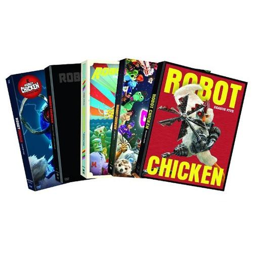 Robot Chicken: Seasons 1-5 [5 Discs] [DVD]