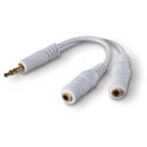 Speaker and Headphone Splitter (White)