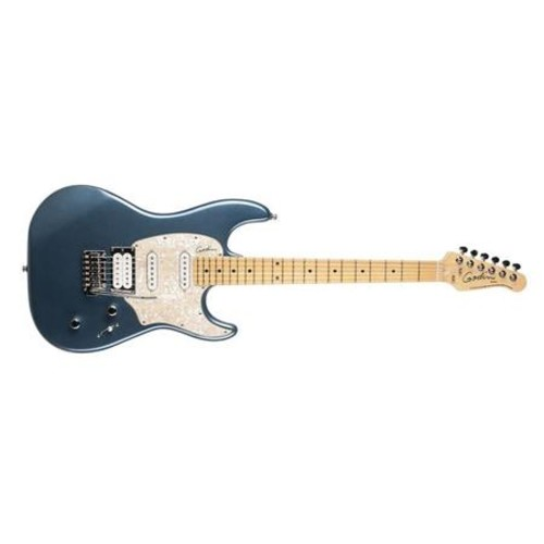 Godin Session LTD 6-String Electric Guitar, Maple, Desert Blue HG