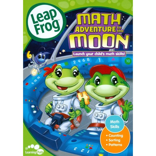 LeapFrog: Math Adventure to the Moon [With Flash Cards] [DVD] [2009]