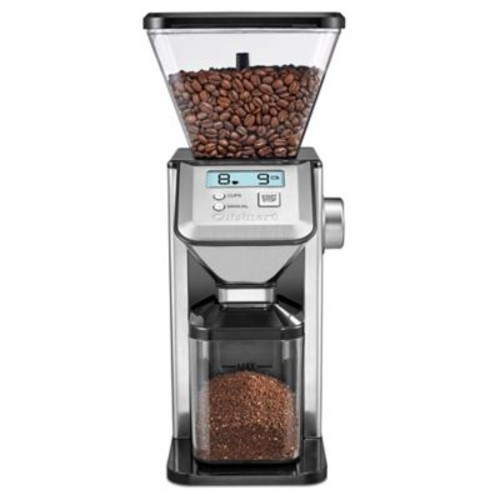 Cuisinart Conical Burr Coffee Grinder in Silver
