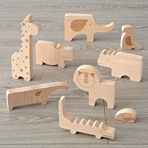 Wood Safari Animal Puzzle