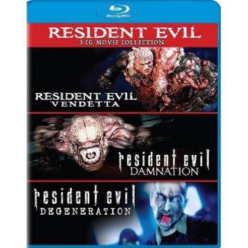 Resident Evil: Damnation/ Resident Evil: Degeneration/ Resident Evil: Vendetta [Blu-Ray]