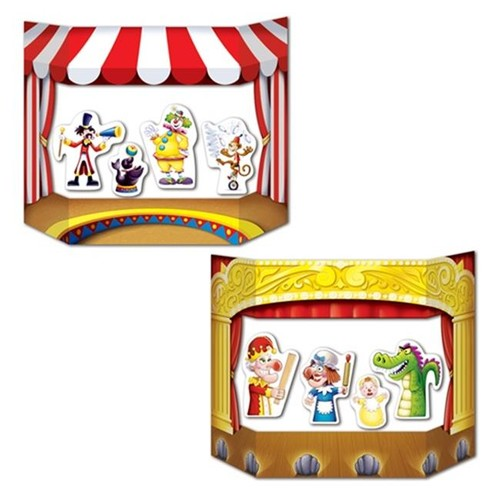 Puppet Show Theater Photo Prop (Pack of 6)