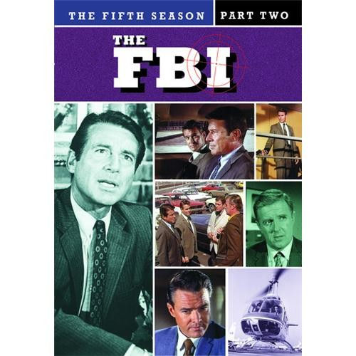 The Fbi: The Complete Fifth Season, Btb 2 Pack(7 Disc Set) Md2 DVD Movie 1969-70