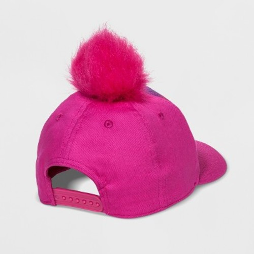 Girls' Trolls Baseball Hat - Pink