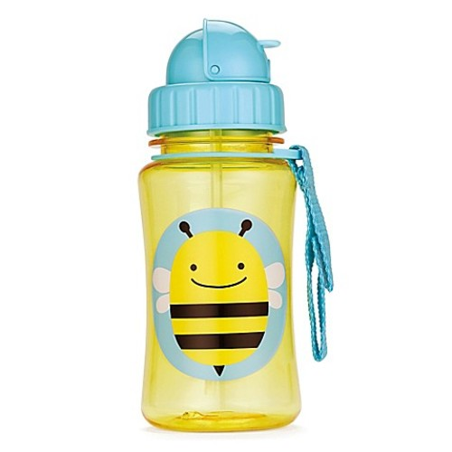 SKIP*HOP Zoo 12 oz. Bee Straw Bottle