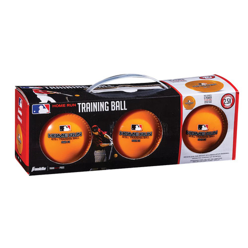 Franklin Sports MLB 12.5-oz. Home Run Training Ball Pack