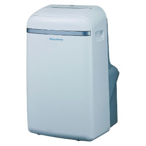 Keystone - 12000-BTU Portable Cool Only Air Conditioner - White