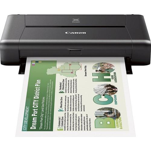 Canon PIXMA IP110 9596B002 Color Inkjet Wireless Mobile Printer (9596B002)