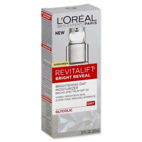 L'Oral Revitalift Bright Reveal 1 fl. oz. Brightening Day Moisturizer with SPF 30