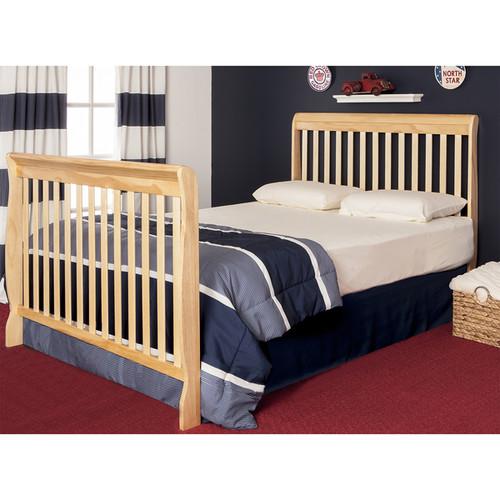Dream On Me Ashton Natural 5-in-1 Convertible Crib - Brown