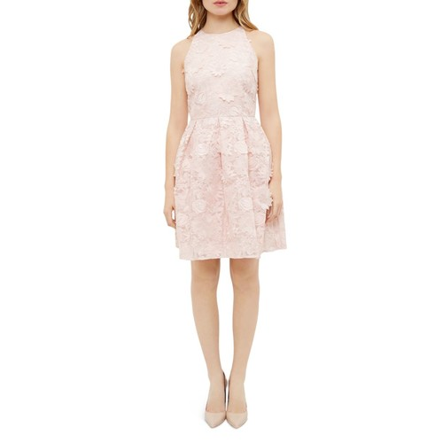 TED BAKER Sweetee Lace A-Line Skater Dress