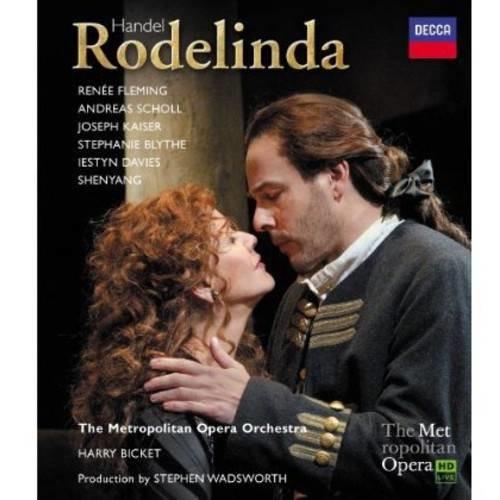 Handel: Rodelinda [Blu-Ray Disc]