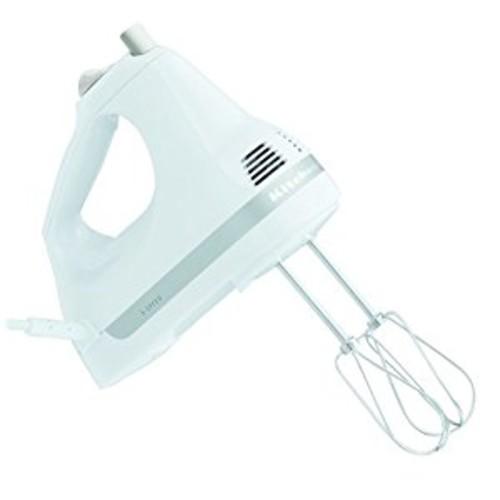 Kitchen Aid KitchenAid KHM5APWH 5-Speed Ultra Power Hand Mixer White