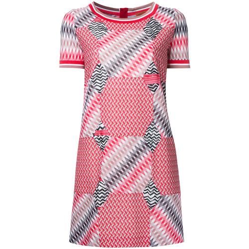 MISSONI Geometric Pattern T-Shirt Dress