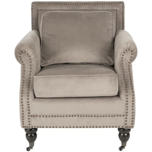 Safavieh 'Karsen' Mushroom Taupe Club Chair