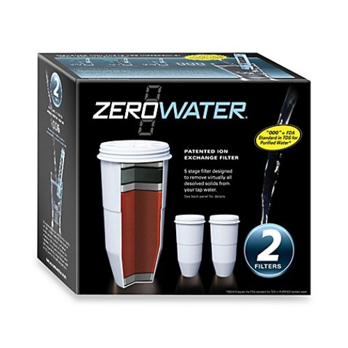 ZeroWater 2-Pack Pitcher Replacement Filter