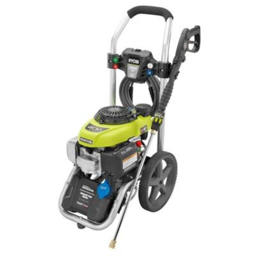 Ryobi 2,800-PSI 2.3-GPM Honda Power Control Gas Pressure Washer