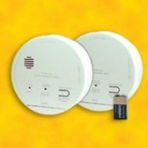 Gentex GN-503 Smoke & Carbon Monoxide Alarm, 120V Hardwired Interconnectable Photoelectric w/9V Battery Backup & T3 & T4 Horns (918-0005-002)