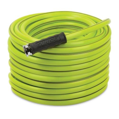 Sun Joe Aqua Joe 1/2 in. Dia. x 100 ft. Heavy Duty, Kink-Resistant, Lightweight Garden Hose, Lead-free, BPA-Free