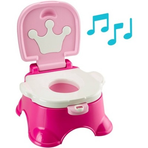 Fisher-Price Stepstool Potty - Pink