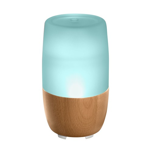 HoMedics Ellia Reflect Aroma Diffuser W Oils \u0026 Sounds \u0026 Remote