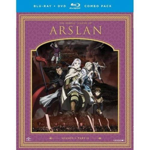 The Heroic Legend Of Arslan: Season One - Part Two [Blu-Ray][DVD]