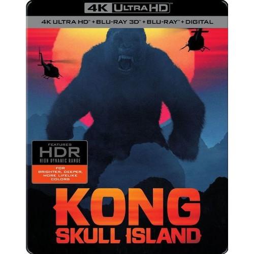 Kong: Skull Island - SteelBook [Digital Copy] [3D] [4K Ultra HD Blu-ray/Blu-ray] [Only @ Best Buy] [4K Ultra HD Blu-ray/Blu-ray/Blu-ray 3D] [2017]