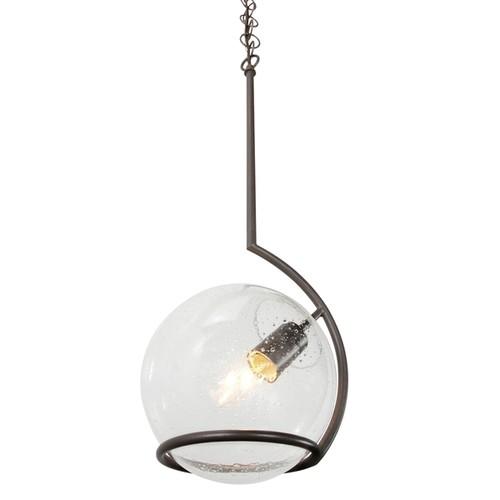 Varaluz Watson 1-light Mini Pendant [Finish : Silver Finish]