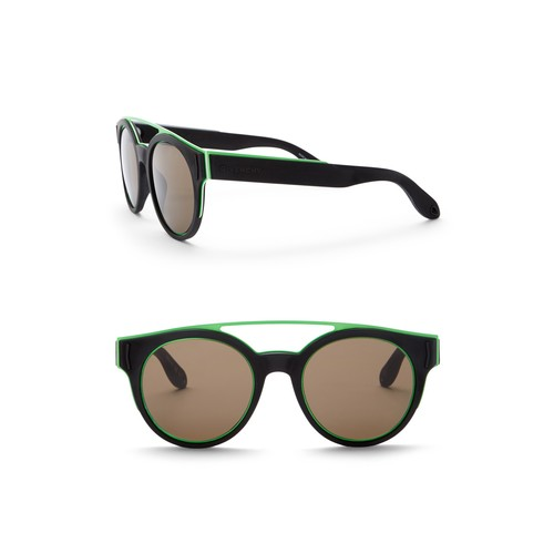 Round 50mm Sunglasses