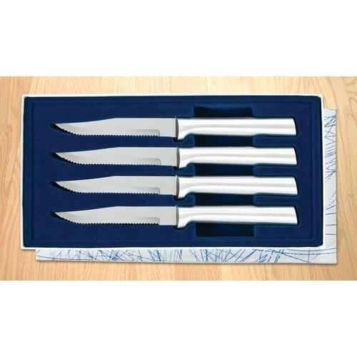 Rada Cutlery Serrated Steak Knife Gift Set (Set of 4)