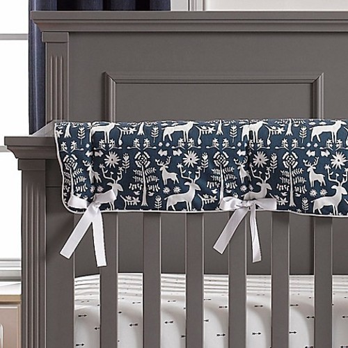 Liz and Roo Woodland Forest Long Rail Guard in Navy