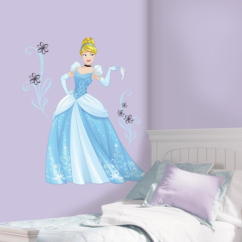 RoomMates Disney Sparkling Cinderella Peel and Stick Giant Wall Decals