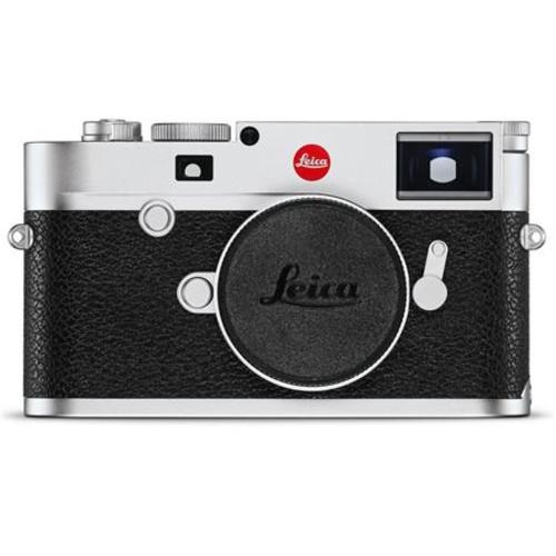 Leica M10 Mirrorless Digital Rangefinder Camera, Silver Chrome