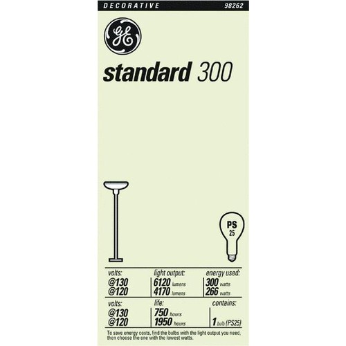 Satco PS25 Incandescent Light Bulb - S4960