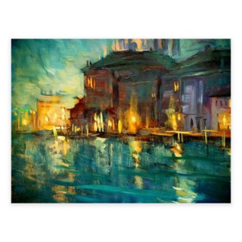 Abstract Evening All-Weather Outdoor Canvas Wall Art