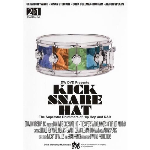 Kick Snare Hat: Superstar Drummers of Hip Hop and R&B [DVD] [English] [2008]