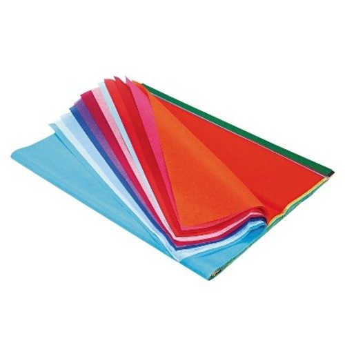 Pacon Spectra Art Tissue, 10 lbs., 20 x 30, 20 - Multi-Colored (20 Sheets Per Pack)