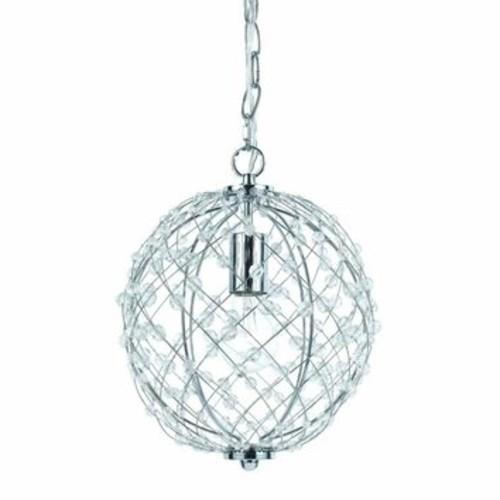 Silver Web 1-Light Pendant