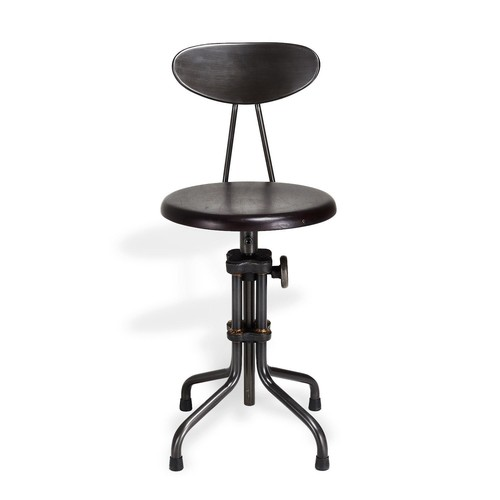 Edge Low Cast Iron Stool