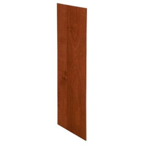Home Decorators Collection Kingsbridge Cabernet Assembled 23.25x18x0.1875 in. Wall Kitchen Skin End Panel