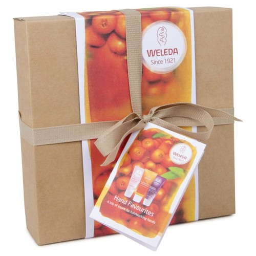 Weleda Hand Cream Trio Gift Box