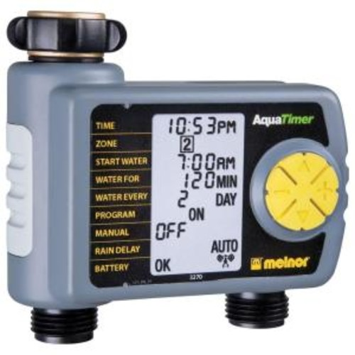 Melnor Automatic 2-Outlet Hose Timer