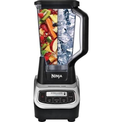 Ninja - Professional 72-Oz. Blender - Black/silver