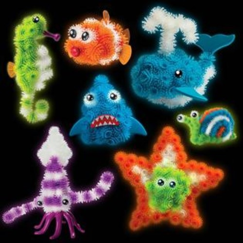 Spin Master Bunchems Glow'n the Dark Under the Sea Pack