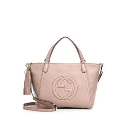 GUCCI Soho Small Leather Top Handle Bag